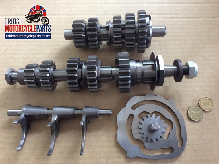 00-0066 5 Speed Gearbox Triumph T140 TR7 T120V - British Motorcycle Parts Ltd NZ