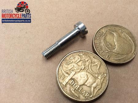 "00-0457 Screw - Cheese Head - Zinc Plated - 7/8"""