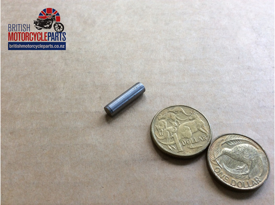 00-0577 GEARBOX OUTER COVER DOWEL - British Motorcycle Parts Ltd - Auckland NZ