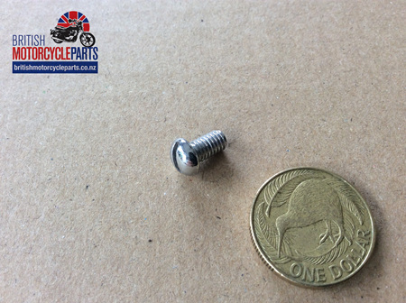 00-0861 FRONT NUMBER PLATE FIXING SCREW