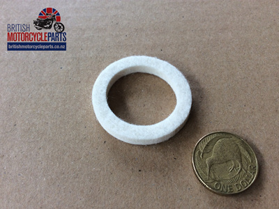 01-2443 FELT SEAL WASHER - CHAINCASE