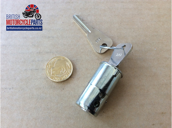 03-0175 Steering Lock & Keys - Norton - British Motorcycle Parts - Auckland NZ