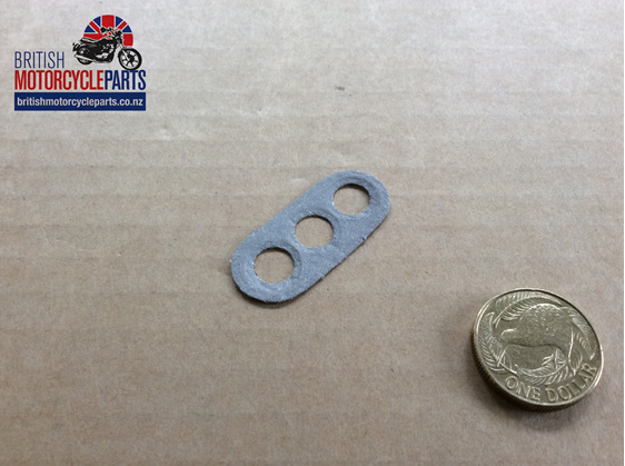 03-2044 GASKET - OIL JUNCTION BLOCK - British Motorcycle Parts Ltd - Auckland NZ