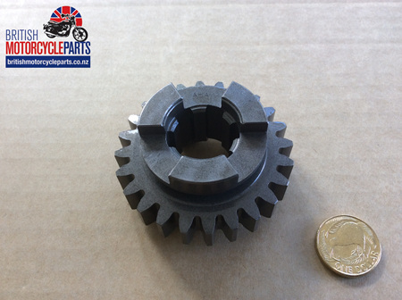04-0019 Layshaft 2nd Gear 24T Pre'74 - 04-0633