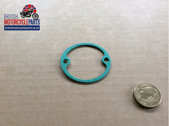04-0057 GASKET - GEARBOX INSPECTION COVER - British Motorcycle Parts NZ