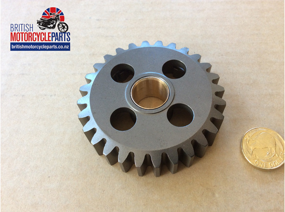 04-0115 Layshaft 1st Gear 28T c/w Bush - Norton - British Motorcycle Parts NZ