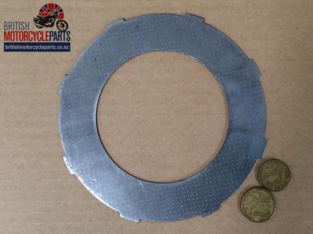 04-3191 Steel Clutch Plate - Norton AMC 1959on