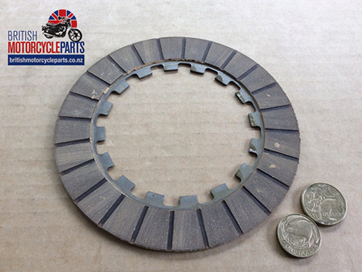 """04-3193 CLUTCH FRICTION PLATE - 1-SIDED 3/8"""" INT'L DOGS"""