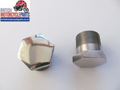 06-0345 Stanchion Top Nut - Commando