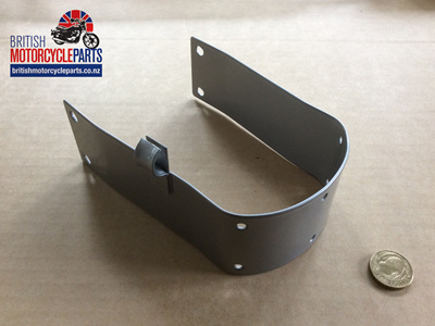 06-0580 FRONT MUDGUARD BRIDGE - PAINTED SILVER