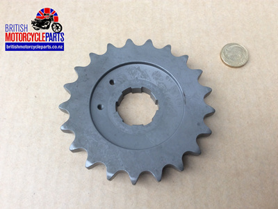 06-0721 Gearbox Sprocket 21 Tooth - Commando