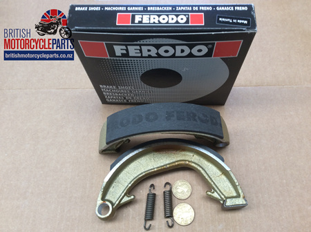 06-0828 06-3417 Norton Rear Brake Shoes - Ferodo
