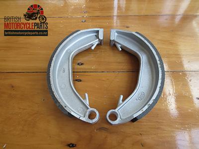 06-0828A Norton Rear Brake Shoes - Pattern - 06-3417A