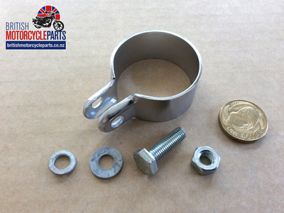 "06-1328 Muffler Clamp - 1 1/2"" - Commando"