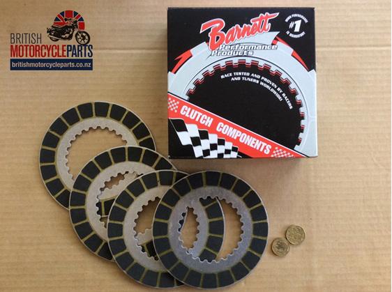 06-1339 Barnett Clutch Friction Plates Kit - 750cc Commando - British Parts NZ