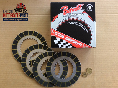 06-1339 Clutch Plate Kit - Barnett - 750cc Commando