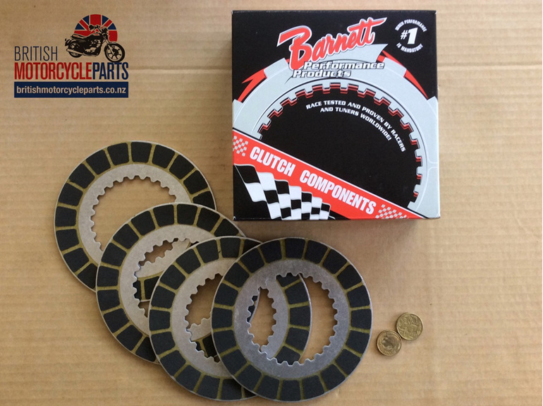 06-1339 Barnett Clutch Friction Plates Kit - 750cc Commando - British Parts NZ