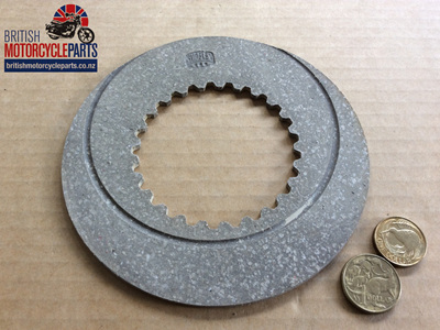 06-1339 Fibre Clutch Plate - Early Commando