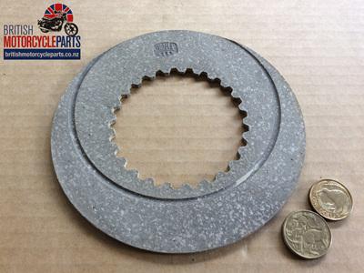 06-1339 Fibre Clutch Plate - Early Commando