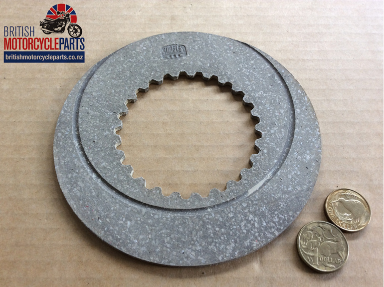 06-1339 Fibre Clutch Plate Early Commando - British Motorcycle Parts Auckland NZ