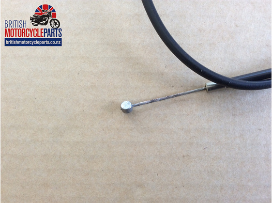 06-1451 Norton Throttle Cable T/Grip to J/Box UK Bars - British Motorcycle Parts