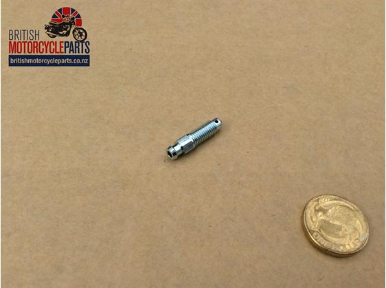 06-1929 Caliper Bleed Screw - Commando - British Motorcycle Parts Ltd - Akl NZ