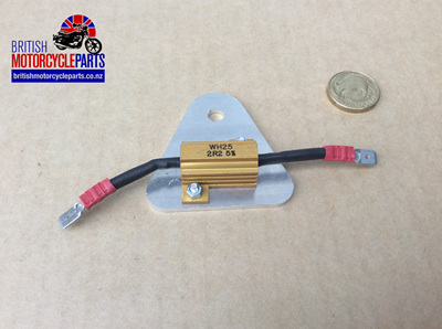 06-2098 Ballast Resistor & Heatsink Assembly - 47225A