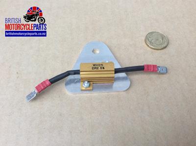 06-2098 Ballast Resistor & Heatsink Assembly - 47225A