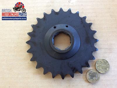 06-3421 Gearbox Sprocket 24 Tooth - Commando