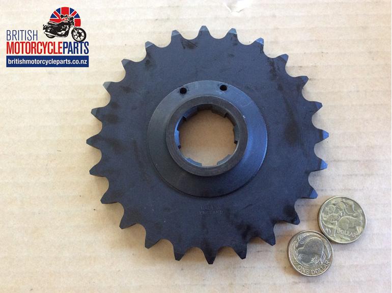 06-3421 Gearbox Sprocket 24 Tooth - Commando- British Motorcycle Parts NZ