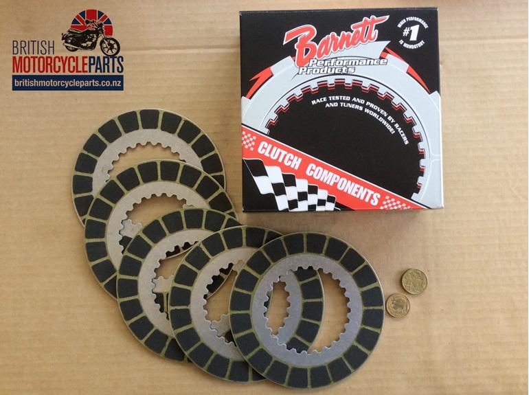 06-3741 Clutch Friction Plate Kit - Barnett - 850cc Commando - Auckland NZ
