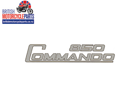 06-4015 Decal - 850 Commando - Silver & Black - Dryfix