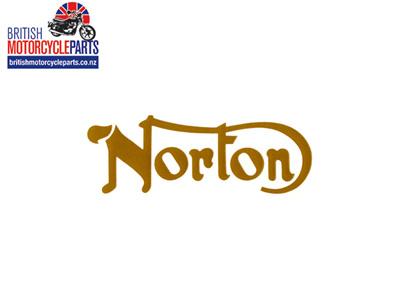 06-4880 Norton Petrol Tank Decal Gold