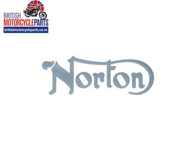 06-4882 Norton Petrol Tank Decal Silver - 06-3179