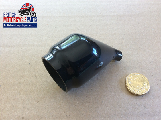 06-4891 Ignition Switch Cover - Rear - British Motorcycle Parts  - Auckland NZ