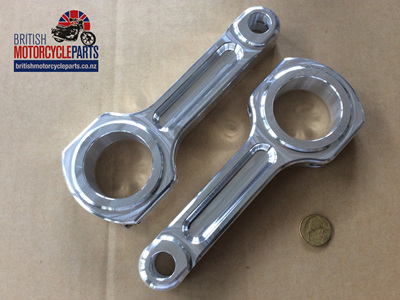 06-4896A Conrods - Norton 750/850 - Billet - PAIR