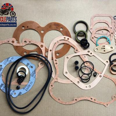 06-5030C Norton Commando 850cc Gasket Set - Copper