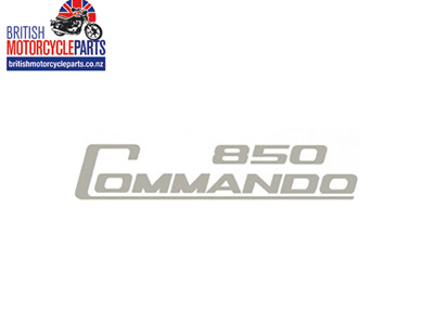 06-5095 Decal - 850 Commando - Silver - Vinyl
