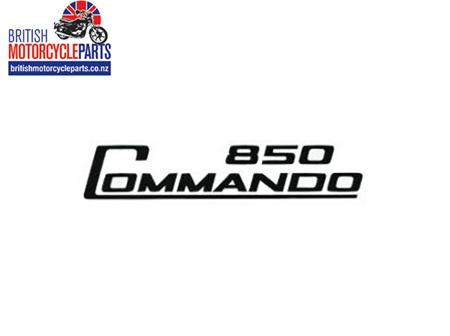 06-5096 Decal - 850 Commando - Black - Vinyl