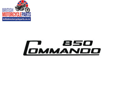 06-5096 Decal - 850 Commando - Black - Vinyl