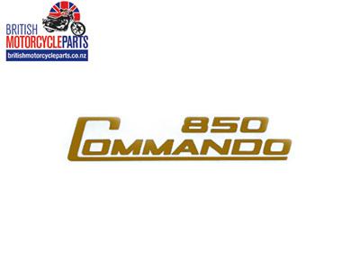 06-5097 Decal - 850 Commando - Gold - Vinyl
