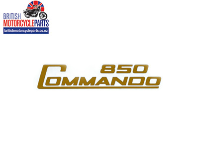06-5097 Decal - 850 Commando - Gold - Vinyl