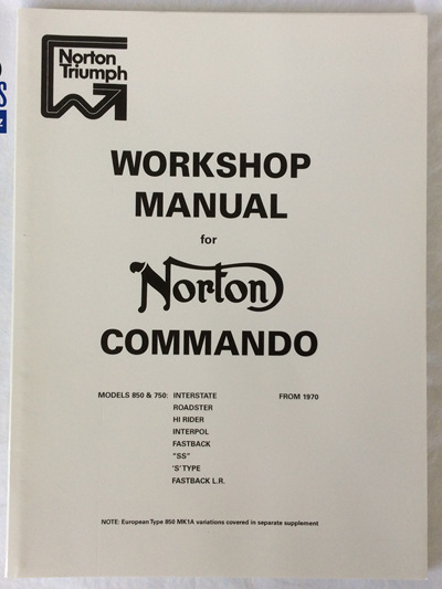 06-5146 Workshop Manual Norton Commando 1970-74