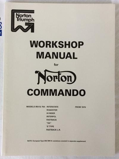 06-5146 Workshop Manual Norton Commando 1970-74
