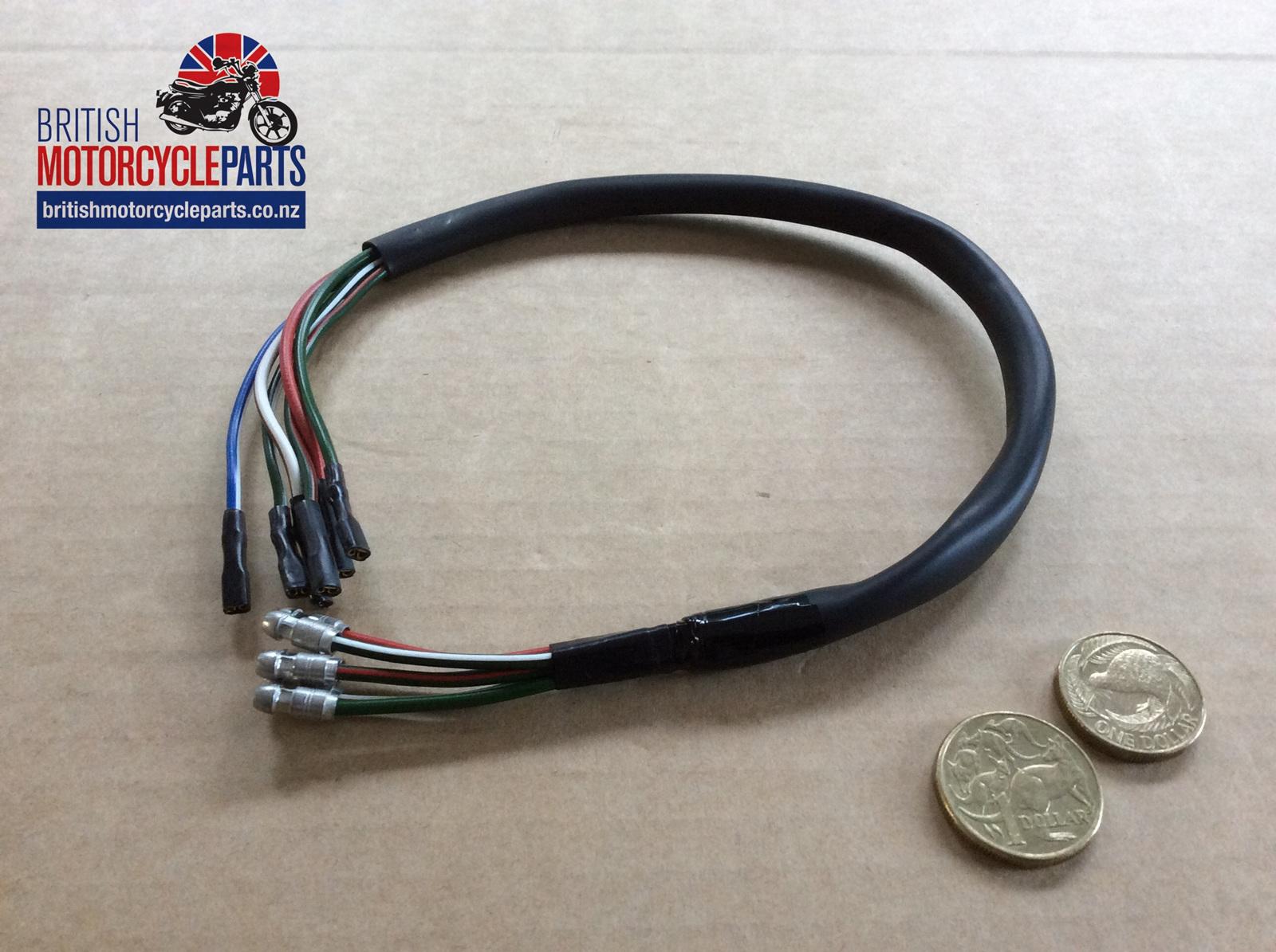 06 5902 Consol Wiring Loom Mk3 Commando 1975 British Motorcycle Looms