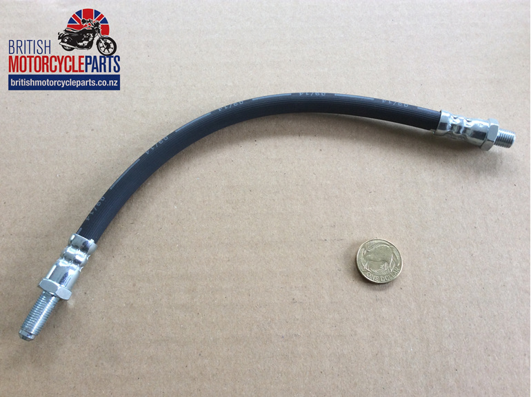 "06-6237 FRONT BRAKE HOSE - USA 10.5"" - British Motorcycle Parts - Auckland NZ"