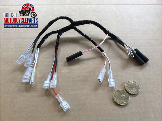 06-6242 Ignition Switch Wiring Loom MK3 Commando 1975 - British MC Parts NZ