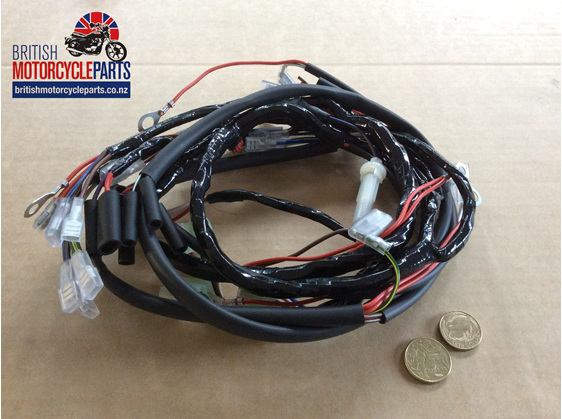 06-6396 Main Wiring Loom MK3 Commando 1975 - British Motorcycle Parts NZ