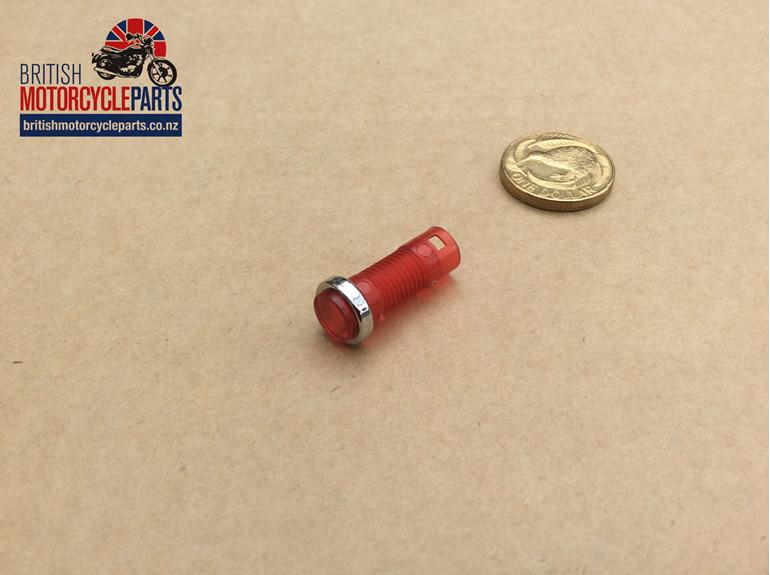 06-6411 Warning Light Lens - Red - MK3