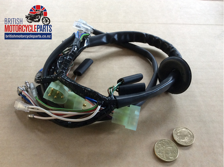 06-6438 Headlight Wiring Loom MK3 Commando 1975 - British Motorcycle Parts NZ